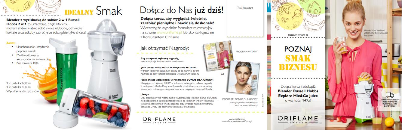 Program Witamy dla konsultantki Oriflame
