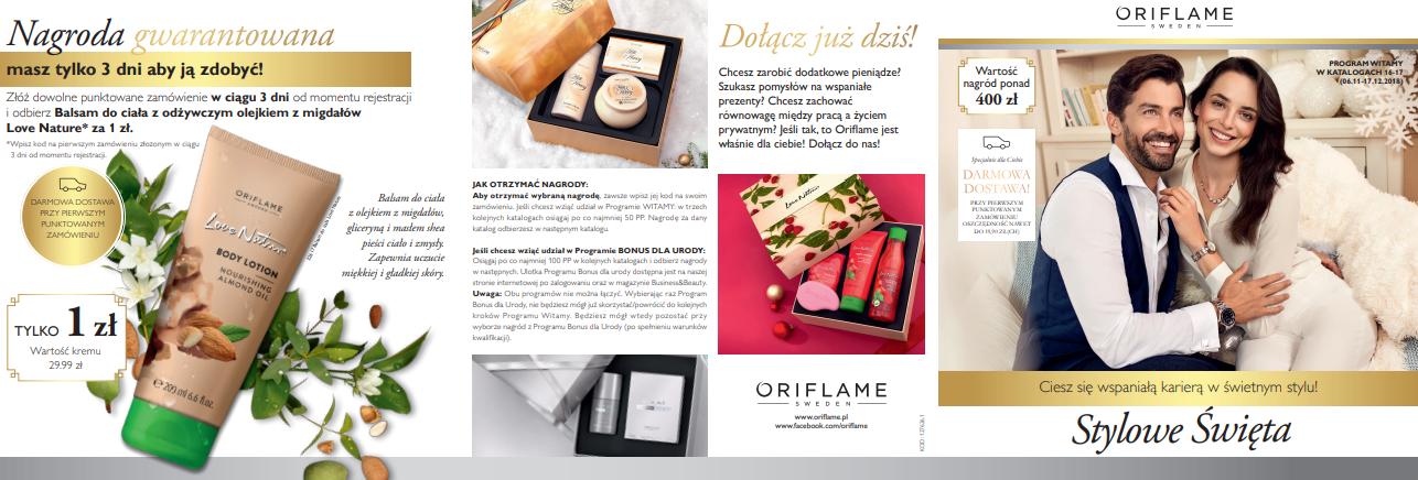 Kosmetyki Oriflame Giordani Gold